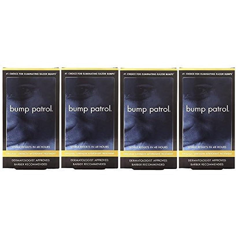 間ノーブル聡明Bump Patrol Dermatologist Approved Original Strength Aftershave Treatment (2 oz) 4 Pack [並行輸入品]