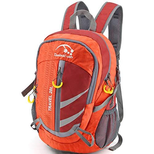 ハイキングバックパック 軽量 登山リュック ナイロン デイバッグ メンズ レディース 親子バッグ リュック ...