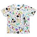 ディズニー リゾート 35周年 Happiest Celebration Tシャツ ( カラフル LL) ミッキー ミニー マウス 他 半袖 洋服 ウェア リゾート 限定