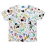 ディズニー リゾート 35周年 Happiest Celebration ! Tシャツ ( カラフル M) ミッキー ミニー マウス 他 半袖 洋服 服 ウェア リゾート 限定