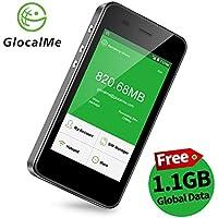 【公式販売】GlocalMe G3 モバイルWiFiルーター simフリー 1.1ギガ分のグローバルデータパック付け 4G高速通信 世界100国・地区以上対応 iPhone・Xperia・Huawei・Galaxy・iPadなど対応 5350mAh充電バッテリー搭載 ポケットwifi(ブラック)