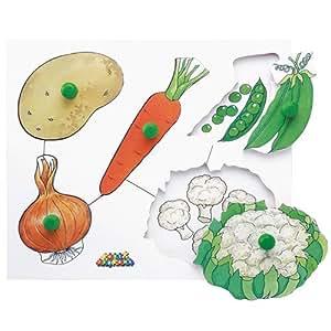 M.リチャード(M.RICHARD) ノブつきパズル・野菜 MRJJ151
