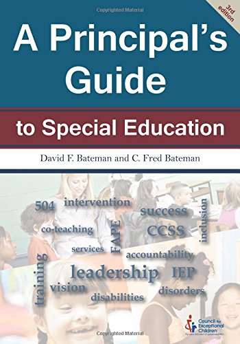 Download A Principal's Guide to Special Education 0865864799
