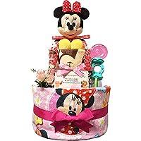 aef4c0a9884160 出産祝いに大人気! ディズニー ミニーのおむつケーキ/赤ちゃんの内祝い・誕生