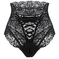 RJDJ Women's Bandage Underwear Sexy Bare Imitation Lingerie Lace Underpants Plus Size Sleepwear