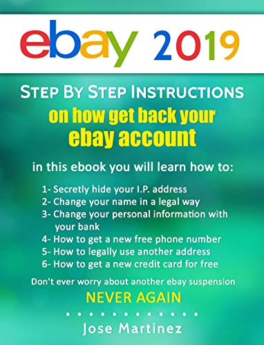 How to beat an eBay Suspension in 2018 eBook: Jose Martinez