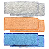 Washable Mopping Pads for iRobot Braava Jet 240 241 Mopping Robot (6 Pads)