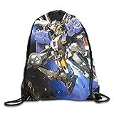 Gundam 機動戦士ガンダム ジムサック バッグ ナップサック マルチバッグ スポーツバック 防水仕様 サイクル スポーツ 通勤 登山 巾着袋 アウトドア 軽量 男女兼用