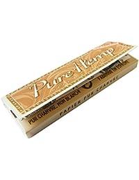 pure hemp ピュアヘンプ アンブリーチシングルペーパー 50枚入りx10個セット シャグ 喫煙具 手巻き【メール便発送】