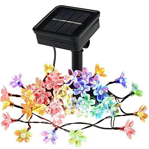 Litom ソーラーパネル LED イルミネーション サクラ...