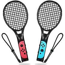 ELTD Nintendo Switch Joy-Con ハンドル 2個セット マリオテニス エース 専用ハンドル 任天堂 switch ジョイコン ブラック