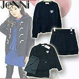 SISTER JENNI(ジェニィ) ニットセットアップ[セーター+スカート+ペチコート] (130-160) 72013/クロ30 (150cm)