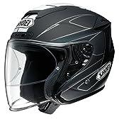 ショウエイ(SHOEI) バイクヘルメット ジェットJ-FORCE4 MODERNO (モデルノ) TC-5 (BLACK/WHITE) L(59cm)