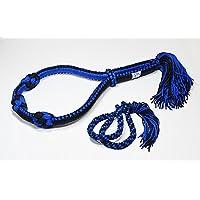 モンコン&パープラチアット セット 青×黒 ムエタイ 編込みタイプ キックボクシング 格闘技装飾