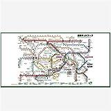 JR東日本 東京近郊路線図ビッグタオル 2018