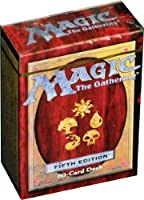 Magic the Gathering Fifth Edition (60 card deck )