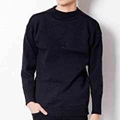 Le Tricoteur Guernsey Jumper: Traditional Navy