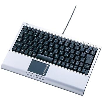 サンワサプライ タッチパッド付キーボード SKB-TP01SV