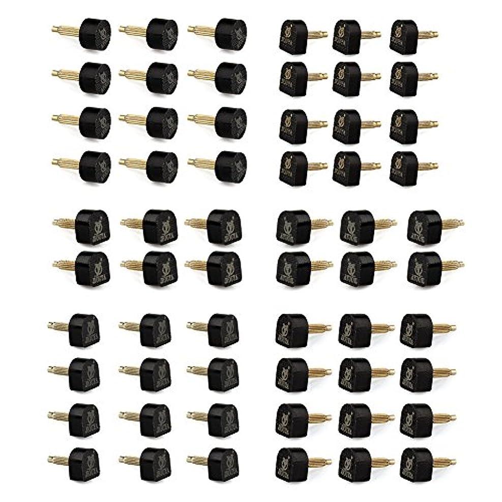 スマート機械的に準備したVERY100 靴底修理キット 靴修理用釘 ハイヒール用 婦人ヒール用 靴屋用 取り替え 5サイズ30組 6ペア9X9mm (U型)+6ペア9X10mm (U型)+6ペア10mm (円形)+6ペア10X11mm (U型)...