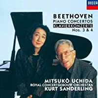 Beethoven: Piano Concertos 3 & 4 by Beethoven