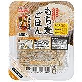 アイリスオーヤマ 低温製法米のおいしいごはん もち麦 パックごはん パックご飯 150g ×48個