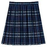 [キューポップ] 丈が選べるチェック柄プリーツスカート(スクール・制服) TN-92 ガールズ ネイビー 日本 61-47 (日本サイズS相当)