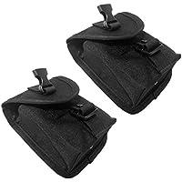 Fityle 余分強度 スキューバ ダイビング スペア ウェイトベルト ポケット パック クイックリリース バックル付き 全2種類