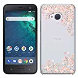 Best HTC Oneケース - 「Breeze-正規品」iPhone ・ スマホケース ポリカーボネイト [透明-Pink]Android One X2/ HTC Review