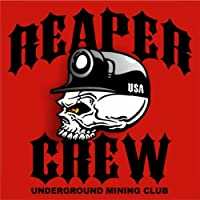 "3–Reaper Crewハード帽子ステッカーDesigned by Earl Ferguson "" Sons of Coal "" h568"