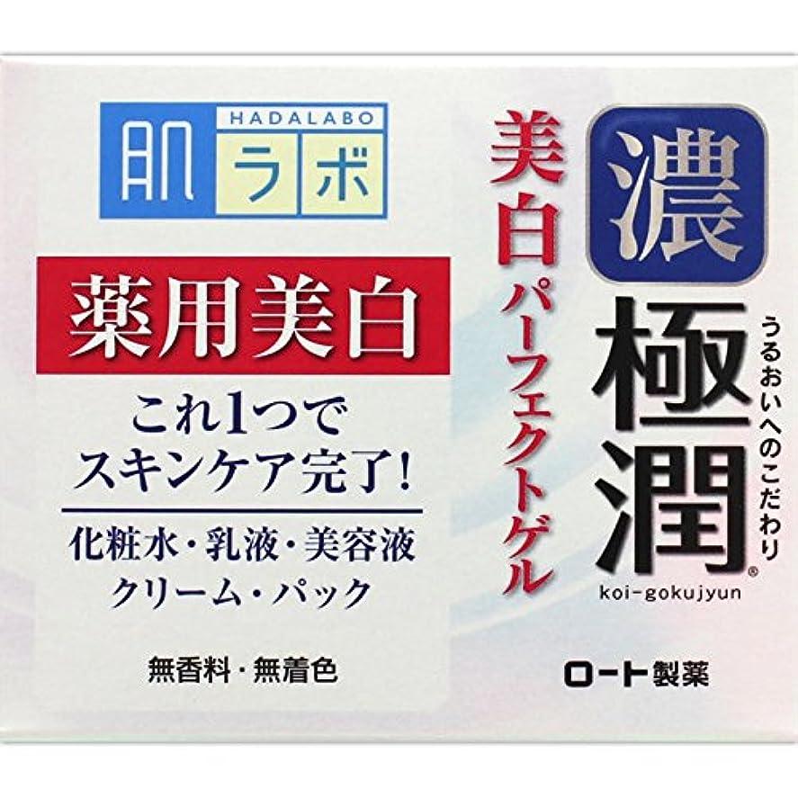 基本的な改修ブランク肌ラボ 極潤 美白パーフェクトゲル 100g (医薬部外品)