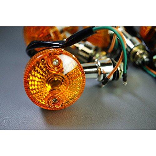 GSタイプミニウインカーメッキ橙/DR-Z50/OrangeCaramel/17-0009