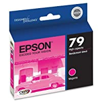 Epson Claria Hi-Definition 79 High-capacity Inkjet Cartridge Magenta T079320 [並行輸入品]