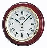 【Amazon.co.jp限定】SEIKO CLOCK (セイコークロック) 欧米モデル クラシック木枠掛時計(茶) BC226B