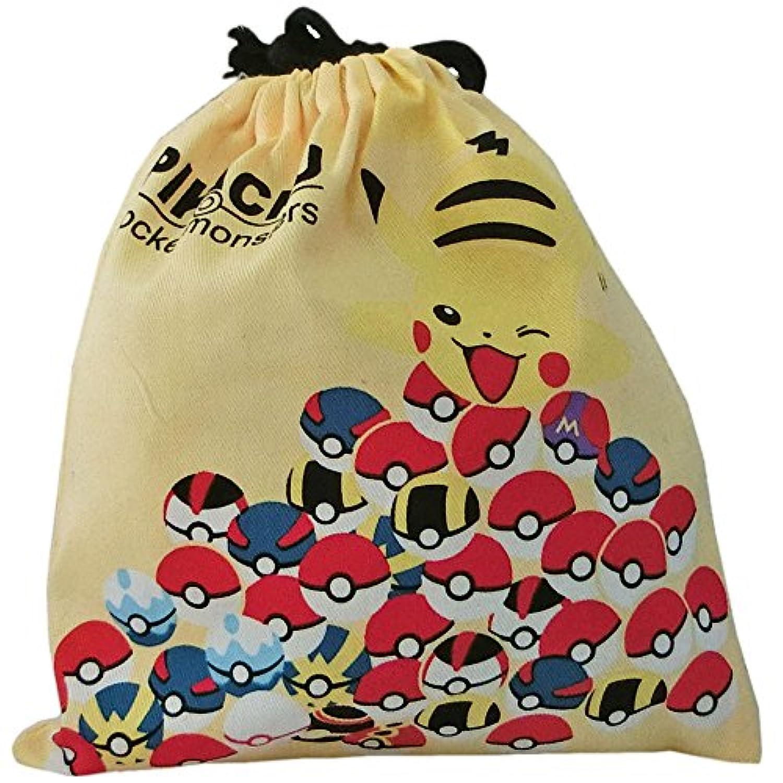 ポケットモンスター[きんちゃく袋]巾着モンスターボール