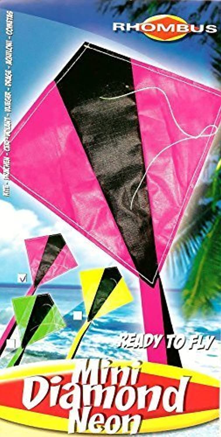 Mini Diamond Kite with Line Included (12 PACK) by Rhombus Kites [並行輸入品]