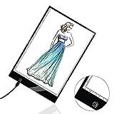 トレース台 A4 無段階調光可能 薄型5mm LED USB給電 漫画/イラスト/製図/デッサン/透写/複写など Duomishu