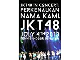 """JKT48 IN CONCERT """"PERKENALKAN NAMA KAMI, JKT48"""" JULY 4TH 2013 TENNIS INDOOR SENAYAN CONCERT DVD 推しメンと2ショットが撮れる2ショットカード付き"""