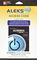 Aleks 360 18 Week Access Card for Introductory Algebra with P.O.W.E.R. Learning