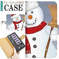 プルームテック Ploom TECH プルーム テック 専用 手帳型 ケース 完全受注生産 クリスマス サンタクロース 029