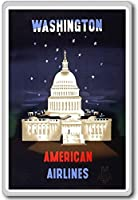 Washington DC, USA vintage travel fridge magnet - ?????????