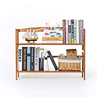 オフィス及び家のための2つの層の本箱の表示収納棚の部屋 (色 : Photo Color, サイズ : 50cm long)