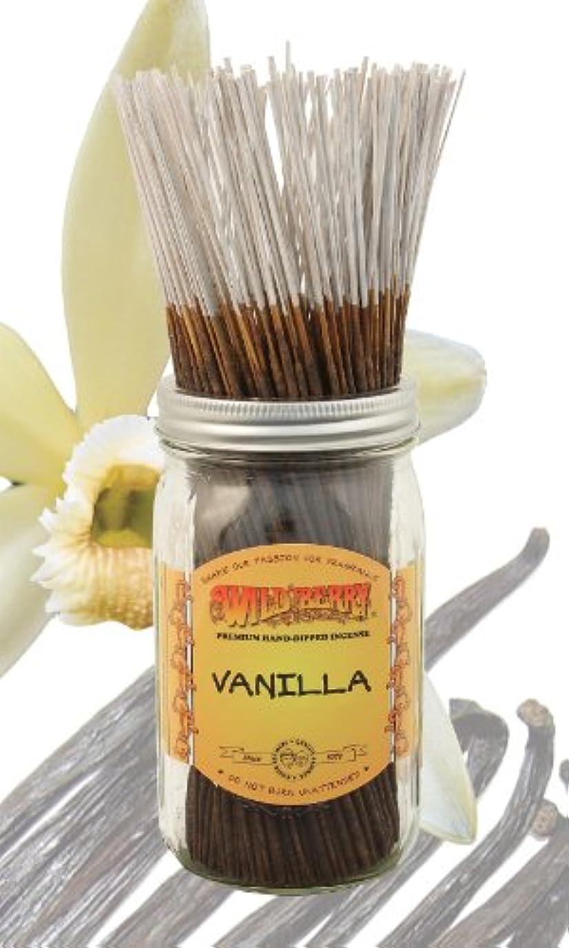 トランクスロー葉バニラ – 100ワイルドベリーIncense Sticks