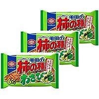 亀田製菓 亀田の柿の種わさび6袋詰 182g×3袋