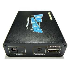 PSPの画面をHDMIに出力できるアップスケーラー PSP-2000/3000/GO対応 HDMI UpScaler LKV8000