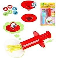 huanadaプラスチック粘Clay押し出し金型ツールセット子供用インテリジェントLearn Playおもちゃ