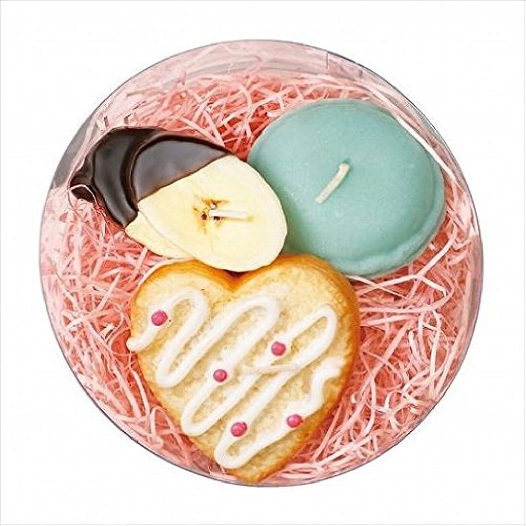 請求書ボア経度sweets candle(スイーツキャンドル) プチスイーツキャンドルセット 「 シュガーハート 」 キャンドル 100x100x55mm (A6366050)