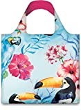 WILD Birds Bag: Gewicht 55 g, Groesse 50 x 42 cm, Zip-Etui 11 x 11.5 cm, handle 27 cm, water resistant, made of polyester, OEKO-TEX certified, can carry up to 20 kg