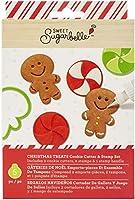 Sweet Sugarbelle (スウィートシュガーベル) セット シーズナル クリスマス クッキー カッター スタンプ クリスマス Treats (5 個) 350342