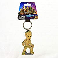MARVEL (マーベル) アベンジャーズ Guardians of the Galaxy Baby Groot (ベビー グルート) キーリング ラバータイプ