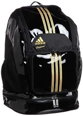 [アディダス] adidas adidas Professionalバックパックエナメル DO301 Z53761 (ブラック/メタリックゴールド)